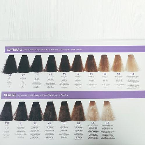 Перманентный краситель для волос DCM HOP Complex 100мл Натуральные и пепельные