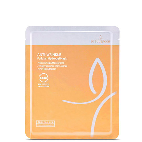 BeauuGreen маска гидрогелевая антивозврастная с пуллуланом 30 мл