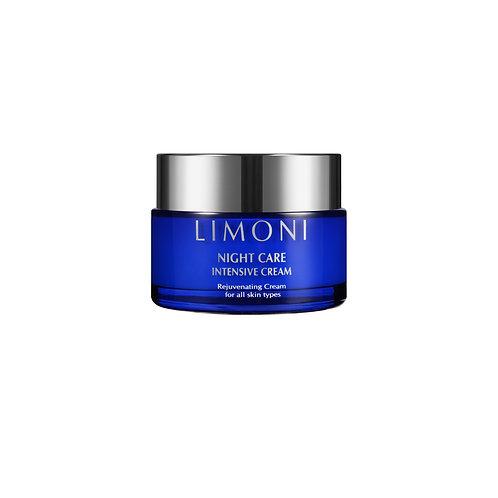 Limoni крем для лица ночной восстанавливающий 50 мл