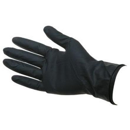 Перчатки латекс Dewal черные 2шт