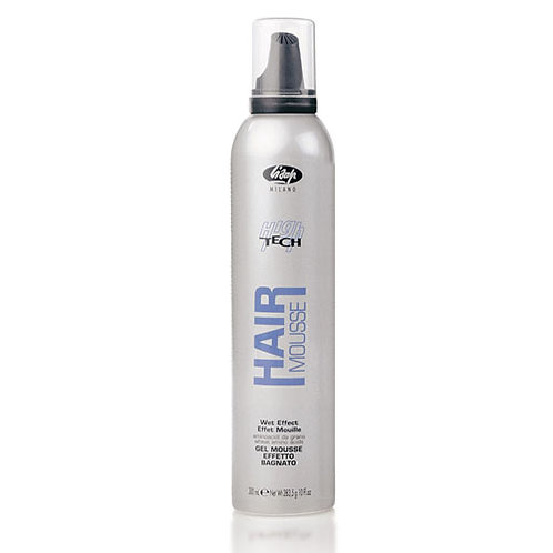 LISAP HIGH TECH Мусс-гель для укладки для создания эффекта «мокрых волос»