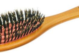 Щетка для волос деревянная, натуральная щетина