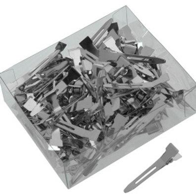 Зажимы металлические маленькие 100 шт