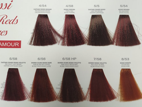 Перманентный краситель для волос Escalation Now Color100мл Красные оттенки