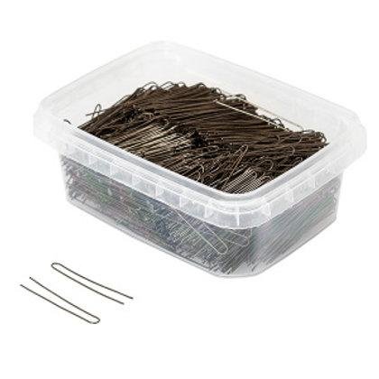 Шпильки для волос бронзовые гладкие 45мм 500гр