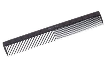 Расческа для стрижки (карбон) 18 см