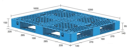 13M-121050-D4(B) | Heavy Duty Plastic Pallet