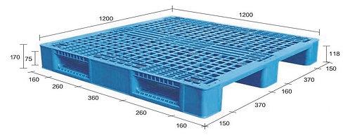 13M-121270-S4 | Heavy Duty Plastic Pallet