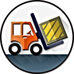 Loadin capacity of fork lift