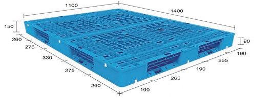 13H-141150-D4 | Heavy Duty Plastic Pallet