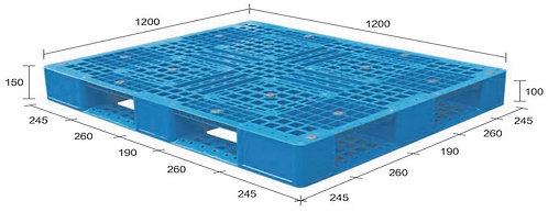 13M-121250-D4 | Heavy Duty Plastic Pallet
