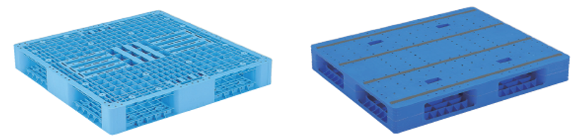 type of plastic pallet surface