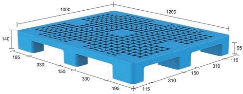 13M-121040-N4(A) | Heavy Duty Plastic Pallet