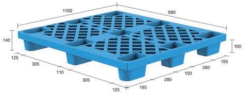 13C-119840-N4 | Nestable Plastic Pallet