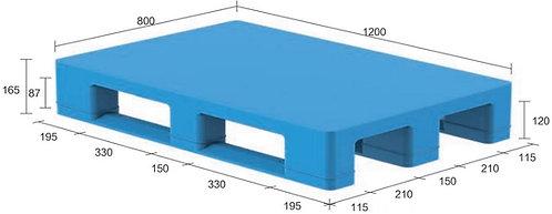 13S-128065-S4 | Hygiene Plastic Pallet