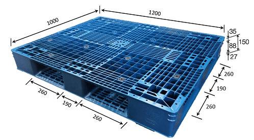 4H-121050-D4 | Heavy Duty Plastic Pallet