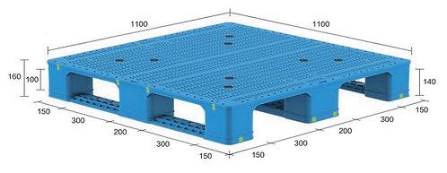 13H-111160-S4 | Heavy Duty Plastic Pallet
