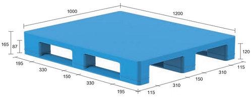 13S-121065-S4 | Hygiene Plastic Pallet