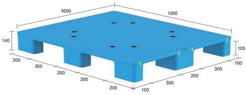 13S-121040-N4(B) | Hygiene Plastic Pallet