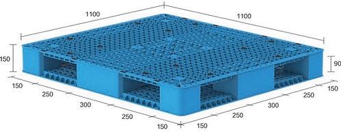 13M-111150-R4 | Heavy Duty Plastic Pallet