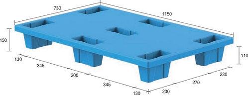 13C-1157350-74 | Nestable Plastic Pallet
