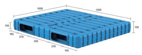 13B-121050-R2 | Blow Moulding Plastic Pallet