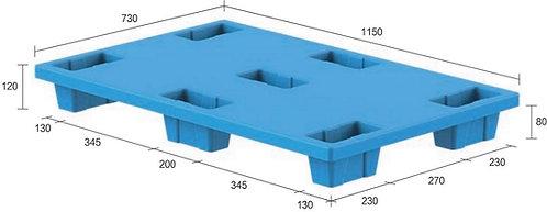 13C-1157320-74 | Nestable Plastic Pallet