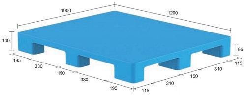 13S-121040-N4(A) | Hygiene Plastic Pallet