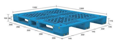 13H-131150-S4 | Heavy Duty Plastic Pallet