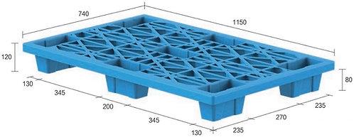 13C-1157420-74(B) | Nestable Plastic Pallet