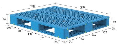 13H-121050-D4(A) | Heavy Duty Plastic Pallet