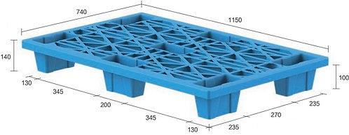 13C-1157440-74(B) | Nestable Plastic Pallet