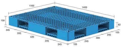 13M-141150-R4   Heavy Duty Plastic Pallet