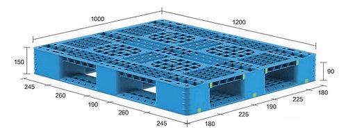 13H-121050-D4(B) | Heavy Duty Plastic Pallet