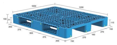 13H-1251050-S4(C) | Heavy Duty Plastic Pallet