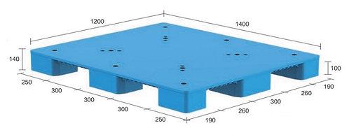 13S-141240-N4 | Hygiene Plastic Pallet