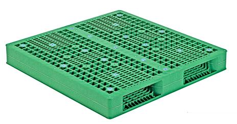 Reversibleplastic pllet top