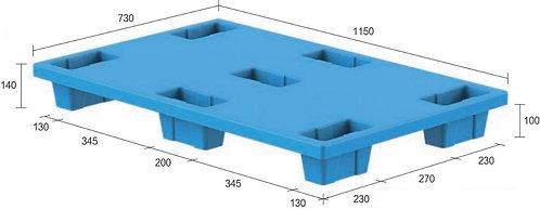 13C-1157340-74 | Nestable Plastic Pallet
