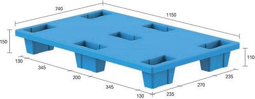 13C-1157450-74(A) | Nestable Plastic Pallet