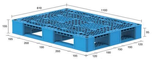 13M-118155-D4 | Heavy Duty Plastic Pallet