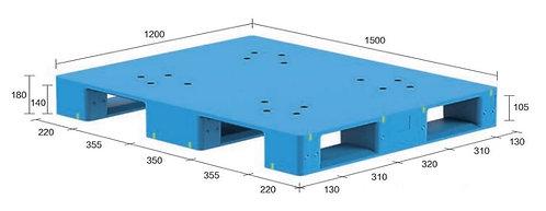 13S-151280-S4(A) | Hygiene Plastic Pallet
