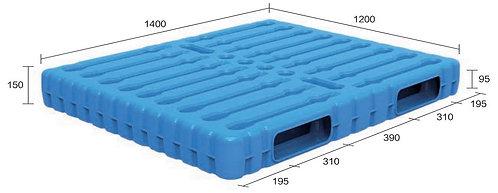 13B-141250-R2   Blow Moulding Plastic Pallet