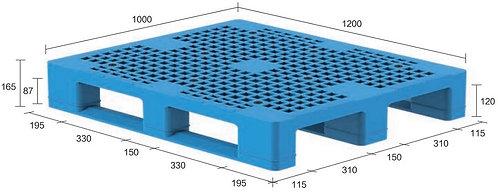 13H-121065-S4(A) | Heavy Duty Plastic Pallet