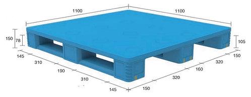 13D-111150-S4(A) | Pharmaceutical Plastic Pallet