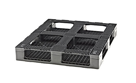 9 runners bottom plastic pallet