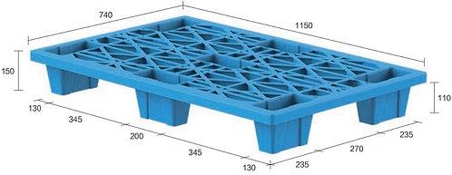 13C-1157450-74(B) | Nestable Plastic Pallet