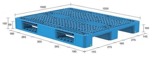 13H-1251050-S4(B) | Heavy Duty Plastic Pallet