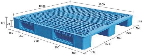 13M-121070-S4 | Heavy Duty Plastic Pallet