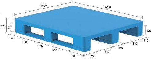 13S-121070-S4(A) | Hygiene Plastic Pallet
