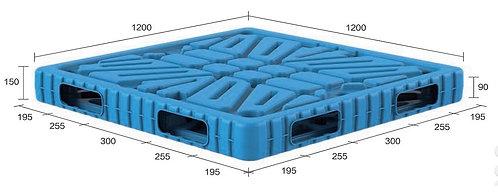 13B-121250-R4 | Blow Moulding Plastic Pallet